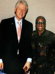 Bill Clinton & Autrilla Scott