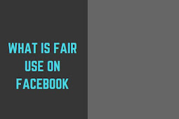 What is fair use on Facebook?