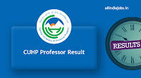CUHP Professor Result