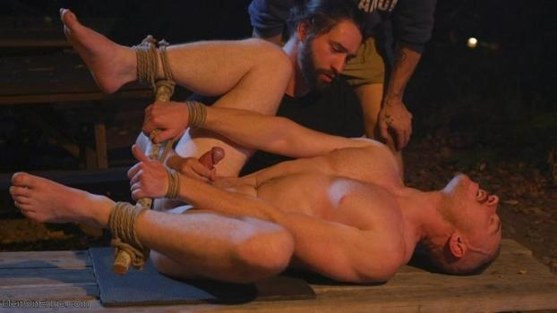 Damien Moreau – New Camper Gets Edged at Camp Perv-Anon