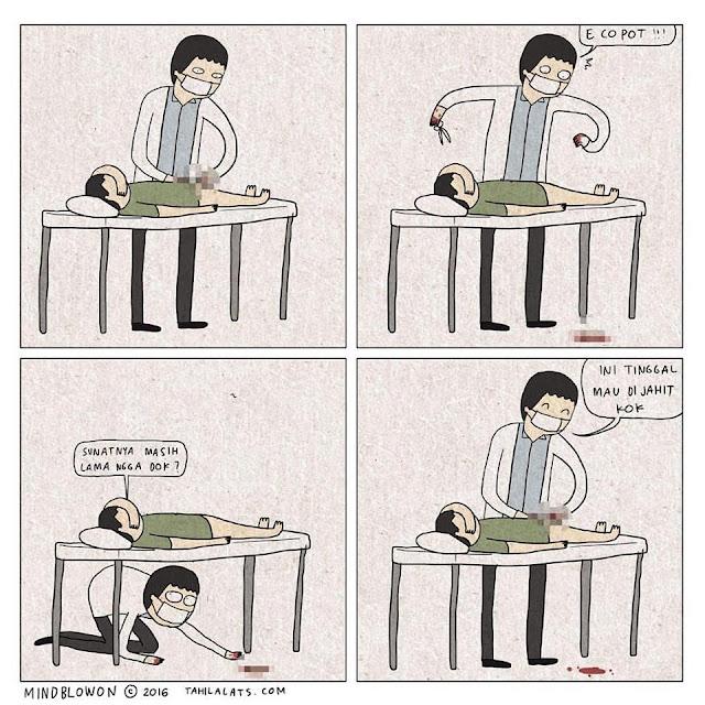 Kumpulan Komik Strip Lucu Tahilalats #3