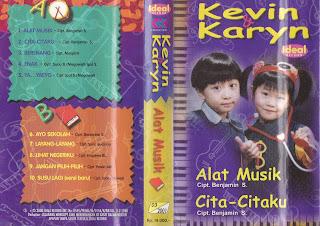 kevin & karyn album alat music www.sampulkasetanak.blogspot.co.id