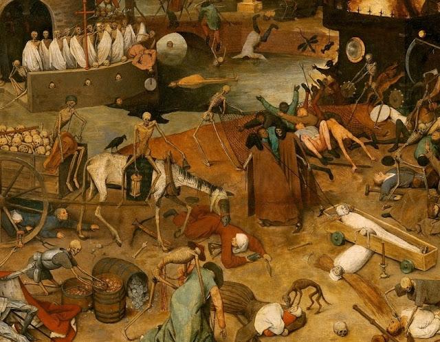 Detalle del «El triunfo de la muerte» de Brueghel el Viejo.