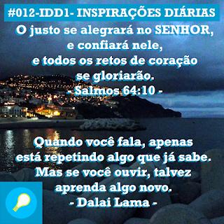 #012-IDD1- Ideia do Dia 1