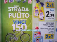 Logo WcNet, Smac, Citrosil, Vetril e Omino Bianco : vinci 150 city bike Atala e 250 card da 100€