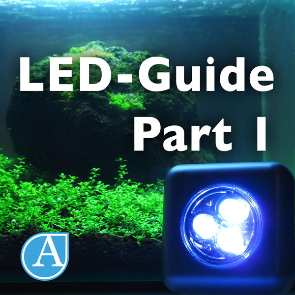 led beleuchtung im naturaquarium teil 1 led lighting in aquariums part 1 aquascapia. Black Bedroom Furniture Sets. Home Design Ideas