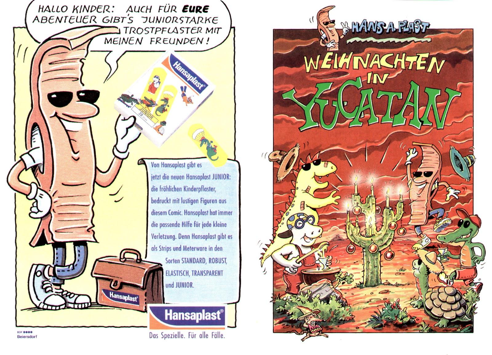 Weihnachten, Comic, Markenwerbung, Humor, Hansaplast, Fred Fuchs, Robert Welz, Köln, Marketing