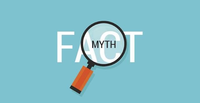 मिथक:आप तो नहीं है इन मिथको के शिकार| Myth: You are not the victim of these myths
