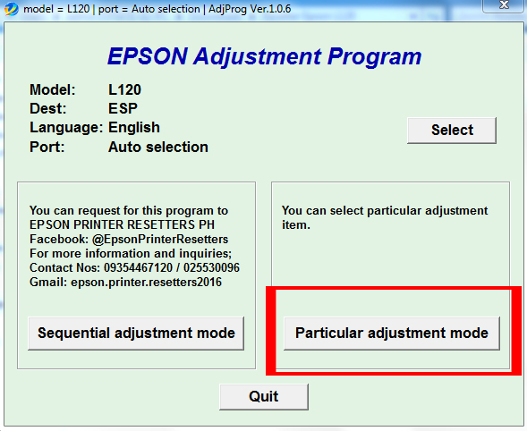 Cara Reset Epson L120 Lampu LED Berkedip Bergantian - NEWBIE CODE NEWS