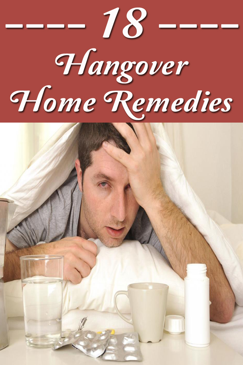18 Hangover Home Remedies
