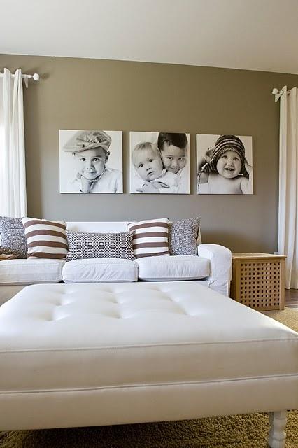 Mirian decor quadros com fotografias for V shaped living room