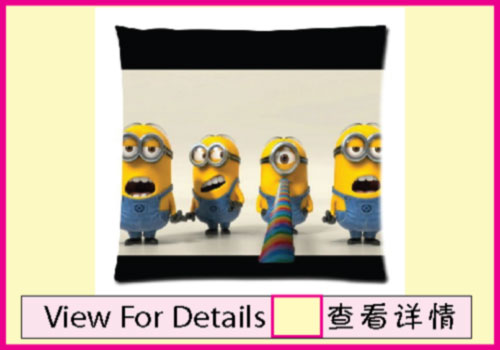 Minion Pillow Cover