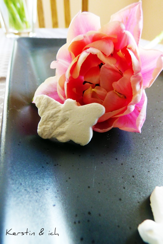 DIY Frühling Kaltporzellan Salzteig
