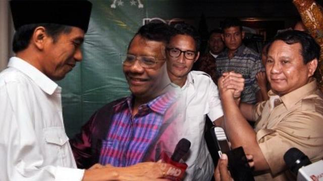 Jokowi, Prabowo dan Sandi Sudah Ajukan Keterangan Tidak Pailit, Hari Ini Mahfud?