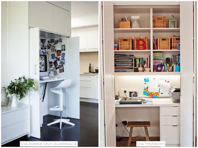 como criar um home office pequeno