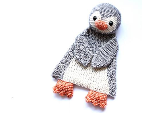 Gehaakte pinguïn, Gehaakte lappenpoppen - A la Sasha | Happy in Red