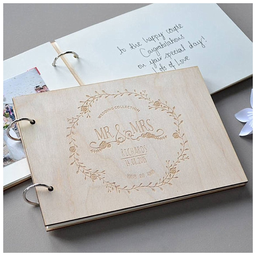 Seven Favourite Wedding Guest Book Ideas