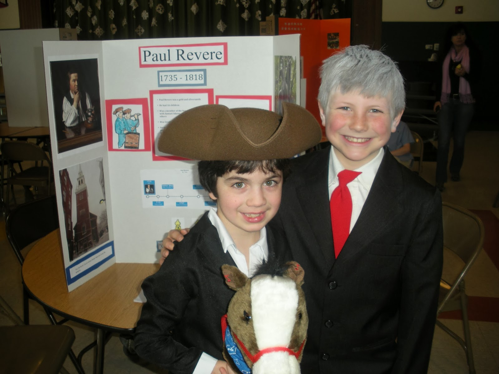 Room 205 Massachusetts Famous People Wax Museum