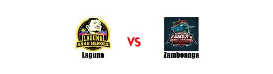 June 14: Laguna Heroes vs Zamboanga Valientes, 9:00pm Alonte Sports Arena