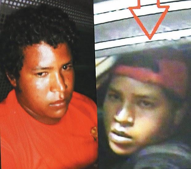 Adriano Santana estava foragido; ele foi encontrado em fazenda no interior da Bahia (Foto: Reprodução)