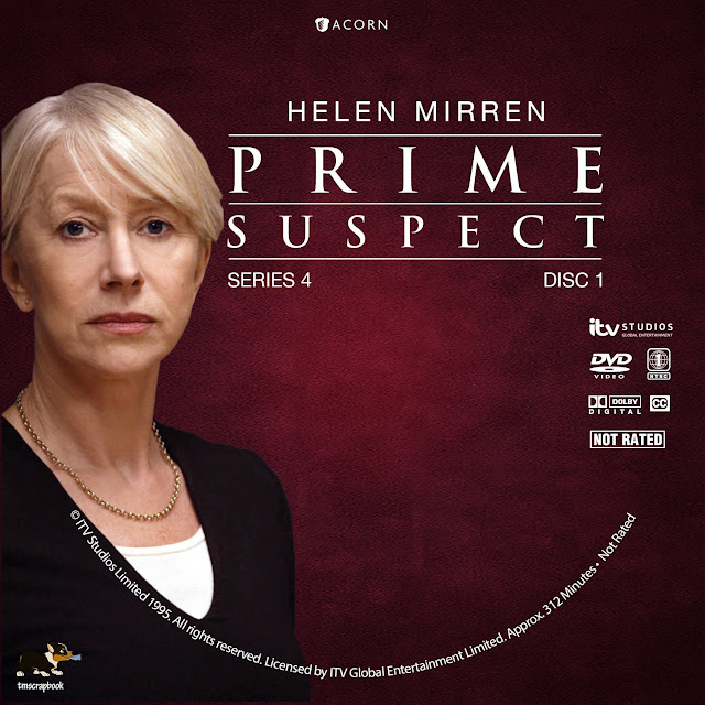 Prime Suspect Season 4 Disc 1 DVD Label