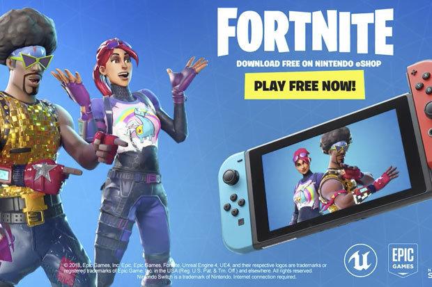 رسميا لعبة Fortnite أصبحت متوفرة الأن على جهاز Nintendo Switch