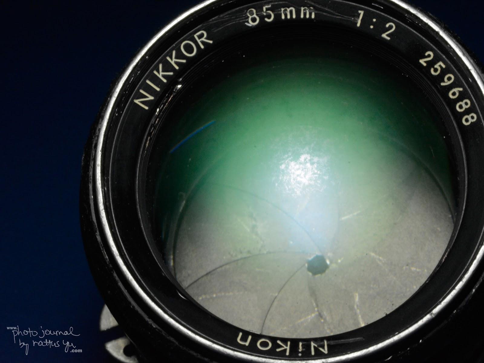 Nikkor 85mm f/2 AI