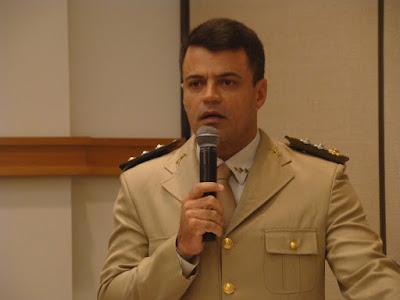 Major André Ricardo presta conta de sua atuação no comando da 12ªCIPM
