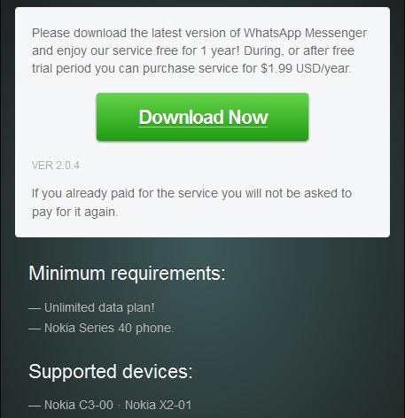 Facebook messenger download for nokia x2 01