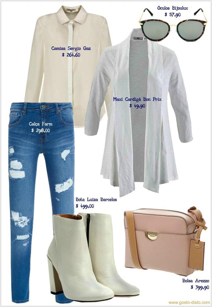 Como usar bota branca sem parecer uma Paquita