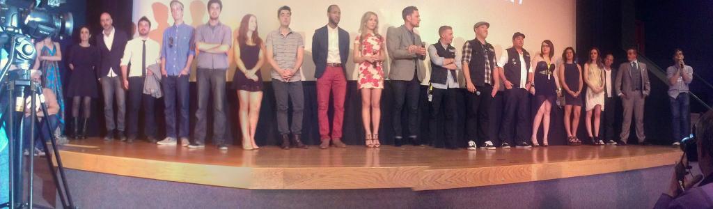 """Antisocial"" cast & crew"