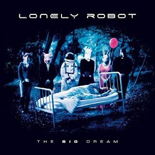 "Videos με τα μέλη των Lonely Robot να μιλούν από το album ""The Big Dream"""