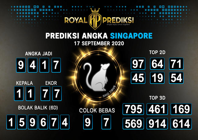 Kode syair Singapore Kamis 17 September 2020 182
