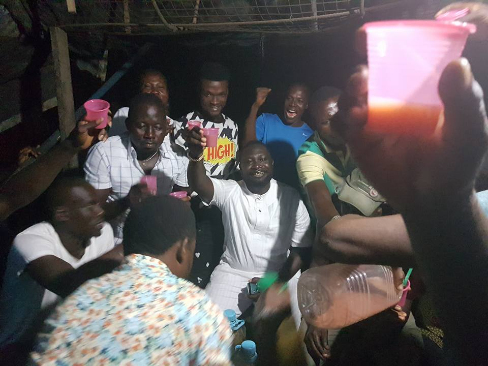 Warri Billionaire, Chief Ayiri & Squad  Celebrates The Release Of James Ibori