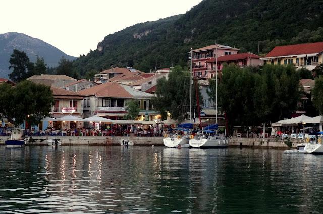 Vasiliki Harbour, Lefkada Island