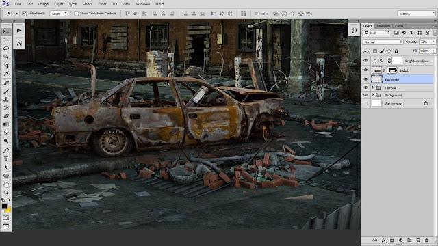 11 Tutorial Photoshop Dramatic Manipulation WAR part 1