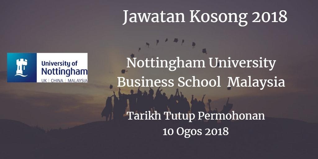 Jawatan Kosong NUBS Malaysia 10 Ogos 2018