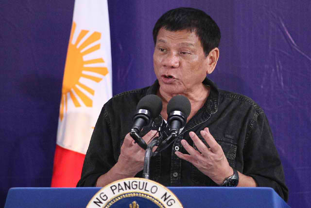 "President Rodrigo Duterte   ""Patayin nyo na ako please, make me a hero"""