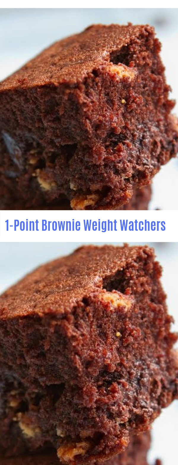 1-Point Brownie Weight Watchers