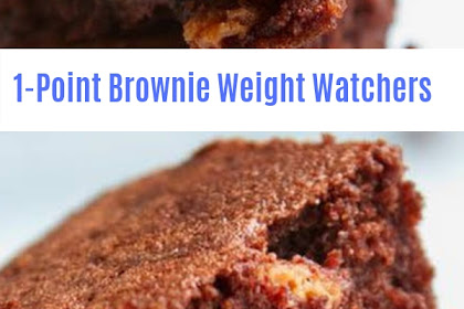 1-Point Brownie Weight Watchers