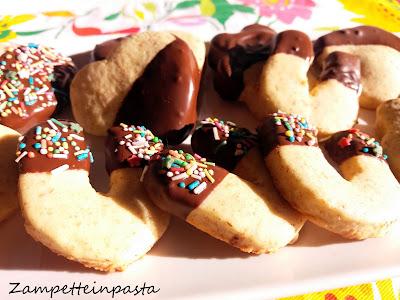 Biscotti all'arancia e cioccolato - Biscotti con l'arancia
