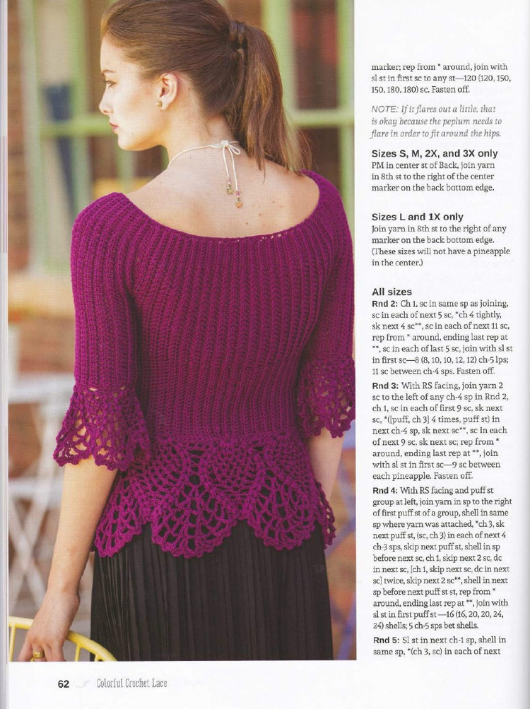 Free Crochet Dress Patterns In English : How to crochet: Free English Crochet Patterns for free ...