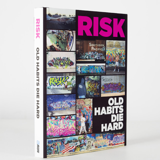 "Detroit based publisher 1xRun recently announced the release of a definitive book on Los Angeles graffiti originator and icon RISK. ""Old Habits Die Hard"" covers over four decades with RISK detailing his history, failures, success and of course the many brushes with the law."
