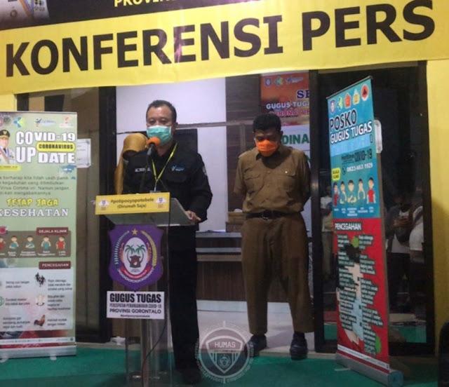 Triyanto Bialangi Ungkap Positif Covid-19 di Gorontalo Menjadi 60 Orang