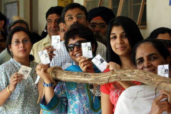 Lok Sabha and Assembly Voting Start