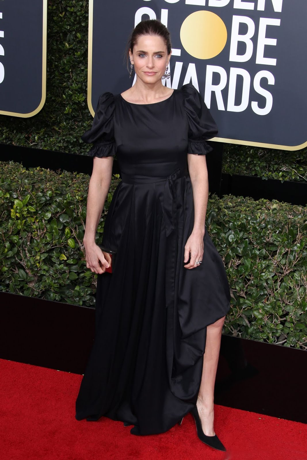 Amanda Peet At 75Th Annual Golden Globe Awards In Beverly Hills