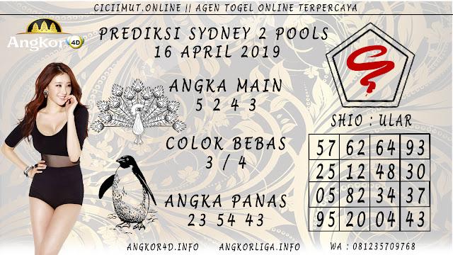 Prediksi Angka Jitu SYDNEY 2 POOLS 16 APRIL 2019