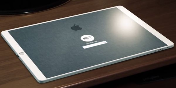 "iPad-Pro-concept The 10.9 ""iPad Pro will not have Home button and its bezels will be narrower Technology"