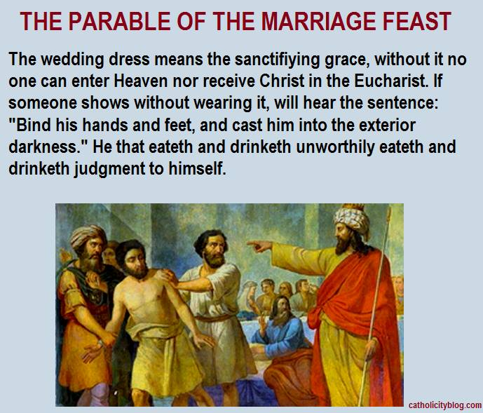 Great Feast Parable Wedding Invitation