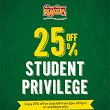 Kenny Roger Roaster : 25% OFF Student Privilege